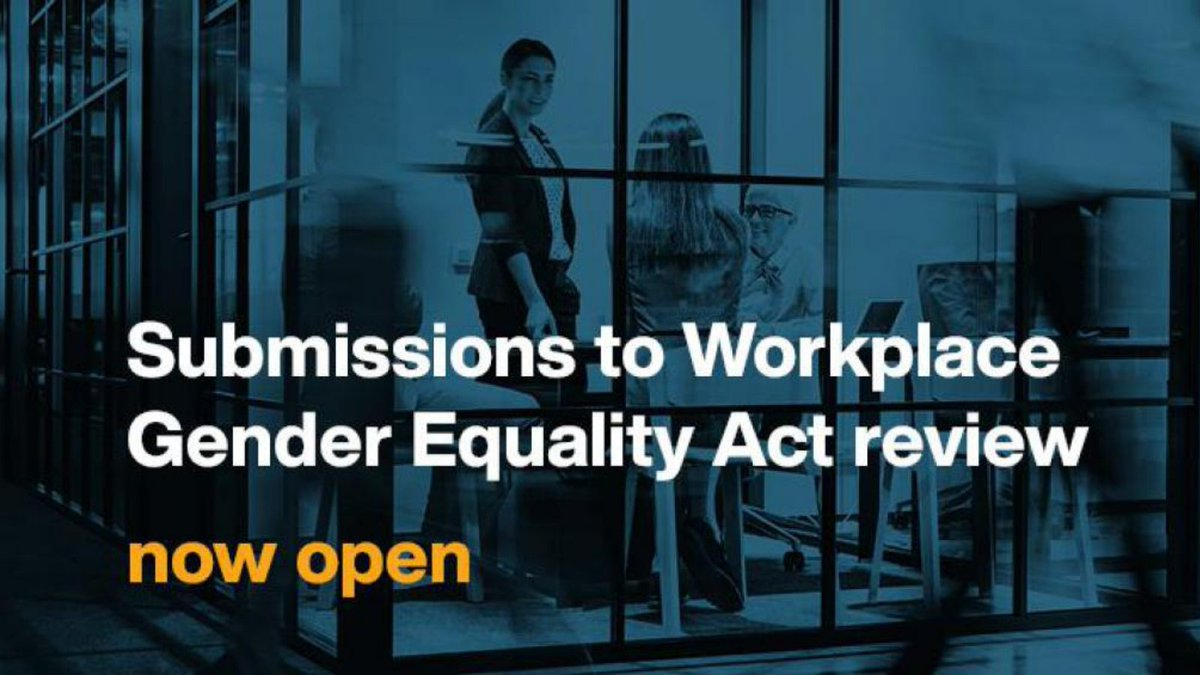 Many organisations, journalists, advocates and workers benefit from the work of @WGEAgency so I strongly encourage you to have your say on the future of the Workplace Gender Equality Act. @AusHumanRights https://t.co/2A8C1bUEIt