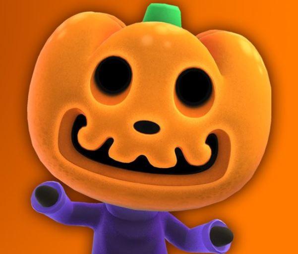 Halloween craft: Jack's jack-o'-lantern is Free to Print via Play Nintendo.