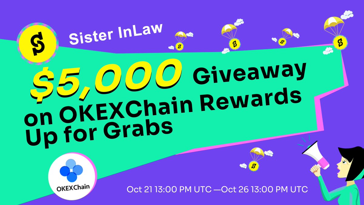 🥳🥳$5000 Giveaway SIL Compaign Coming! ⏰OCT 21th 13:00 PM UTC—OCT 26th 13:00 PM UTC 👉Stake at least $100 value tokens in SIL's JF-USDT, CHE-USDT, BTCK/USDT, ETHK/USDT or OKT/USDT pools for 3 days 🟡Details: bit.ly/3lZsD1o @Cherryswapnet @jswap_finance @OKEXChain