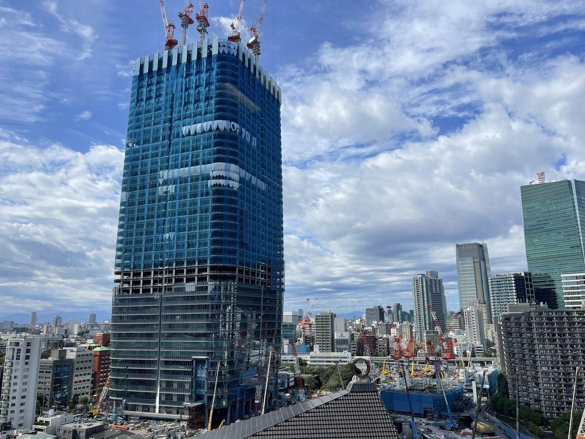 いよいよ見上げ中#日本一の高さのビル工事観察日記#エンジニア採用#駆け出しエンジニアと繋がりたい#エンジニアと繋がりたい#Twitter転職#エンジニア転職#Java