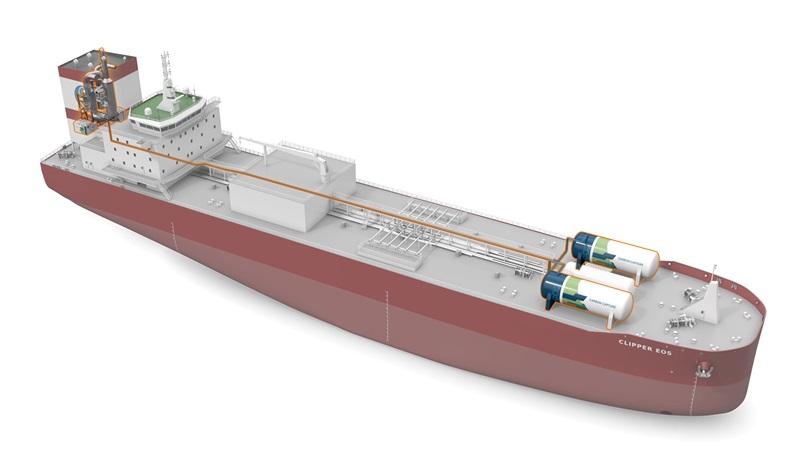 We have signed a Letter of Intent with Solvang ASA to pilot a #carboncapture & storage system retrofitted onboard one of Solvang's #ethylene carriers. wartsi.ly/2XvvsOq #Decarbonisation #decarbonization #SustainableShipping
