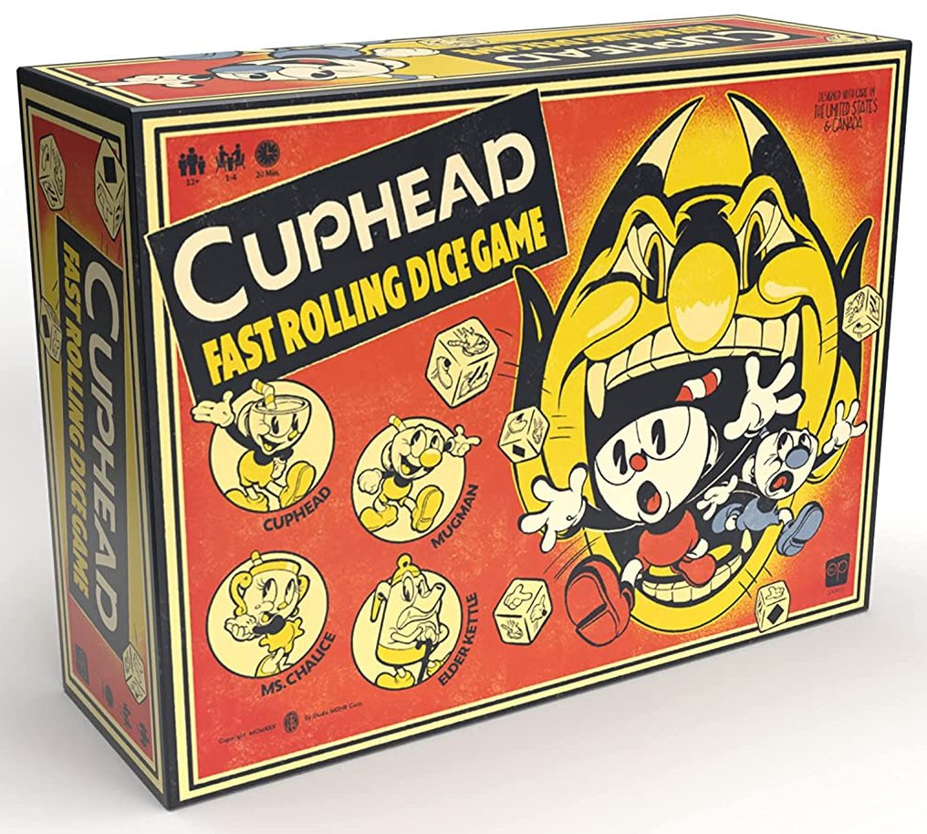 Cuphead Dice Game is up for pre-order on Amazon: