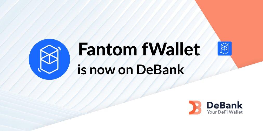 Fantom fWallet portfolio is now tracked on debank.com! (@FantomFDN version) Hat tip to all @FantomFDN voters! $FTM debank.com/vote/3060