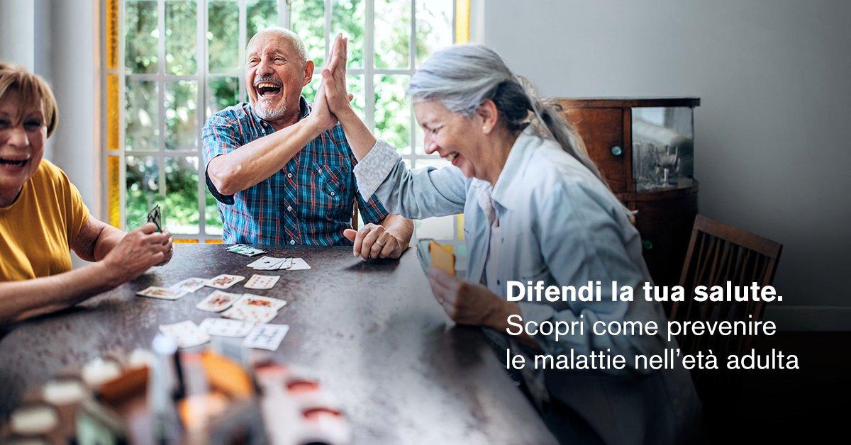 Oggi più che mai prevenire è il miglior modo per tutelare la nostra salute, specie se si è anziani o in caso di patologie. Scopri come qui: https://t.co/XyGaXlV7m8  #laprevenzionenonhaetà https://t.co/xKIe8wASOp