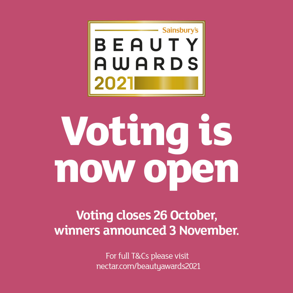 The Sainsbury's Beauty Awards are back 💄 Voting is now open for you to pick your favourite beauty products across a range of categories from best in skincare, make up bag must have to conscious beauty! Vote here: spr.ly/6016yf4Dn *Voting ends 26th October.