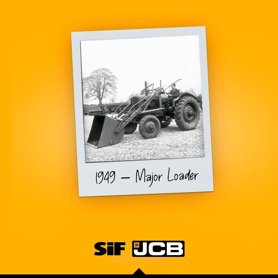 #tbt gününde 👇 . . 1949 - Major Loader . . #oldiesbutgoodies #geçmişzamanolurki #throwbackthursday  #jcb #sifjcb  #güçsarınıniçinde
