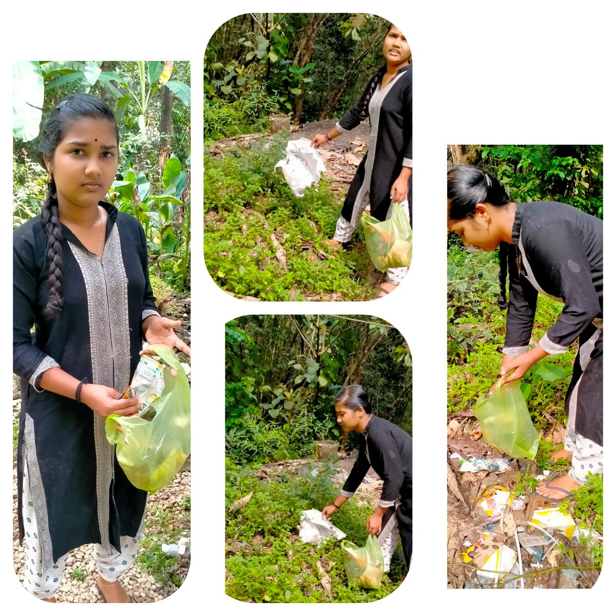 test Twitter Media - #cleanindia NSS Volunteer Ms.Adithya Suresh of VNS Collage, Konnapara, konni, Pathanamthitta, Kerala MG University  is collecting the Waste Plastics from the surroundings. @YASMinistry @_NSSIndia @ianuragthakur https://t.co/QBk2jCphuP