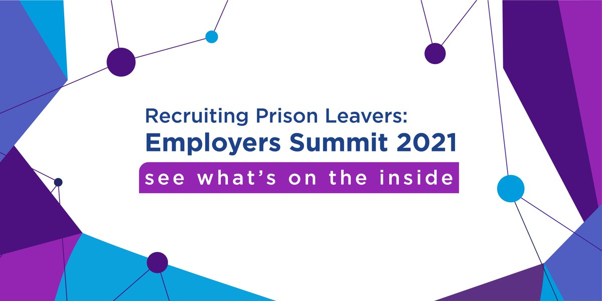 🚨 TODAY 🚨 The Deputy Prime Minister, well-known businesses & prison leavers will discuss recruiting from prison at the Recruiting Prison Leavers: Employers Summit 2021 @MoJGovUK Stay tuned for updates! #SeeWhatsOnTheInside #PlanForJobs