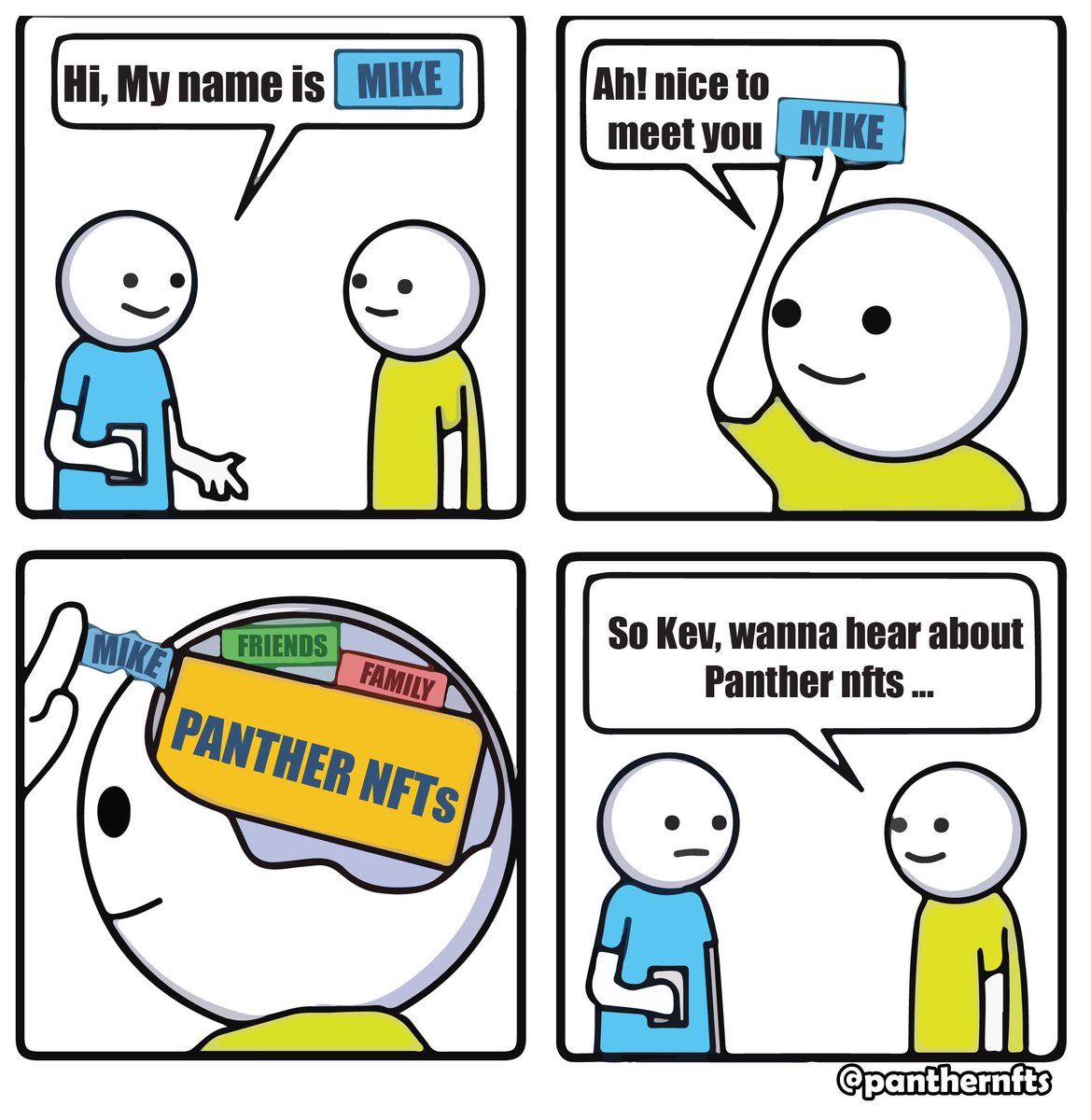 All day! Panthers only!  #panthergang #pantherarmy #nftmemes #NFTCommunity https://t.co/Vg30Kv51wi