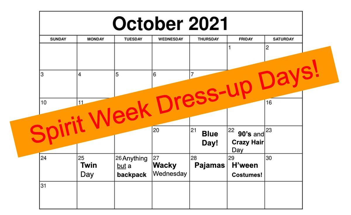 Dress Up Days through to Halloween <a target='_blank' href='http://twitter.com/HBWProgram'>@HBWProgram</a>! ❤️🧡💛💚💙💜Kudos to our Middle Schoolers Valentina, Cooper, Ruth, Eliana, Summer & Emmie for leading the fun! <a target='_blank' href='https://t.co/MplSfMbEaN'>https://t.co/MplSfMbEaN</a>