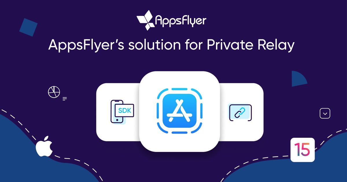 We're excited to announce AppsFlyer's solution for Private Relay, enabling Private Relay users to enjoy deferred deep linking and our customers to receive attribution data.  ow.ly/Jl8K50Gq542