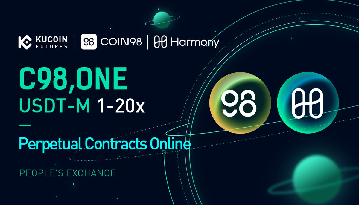 #KuCoinFutures Has Launched USDT Margined C98 & $ONE Contracts ➡️ kucoin.com/news/en-kucoin…