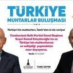 Image for the Tweet beginning: CHP Genel Başkanımız Kemal Kılıçdaroğlu'nun