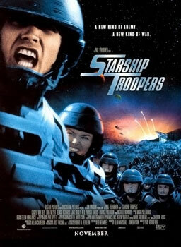 TIL that the cast of Starship Troopers agreed to do the nude shower scene only if the director Paul Verhoeven agreed to direct the scene naked, which he did via /r/todayilearned ift.tt/3jol17b