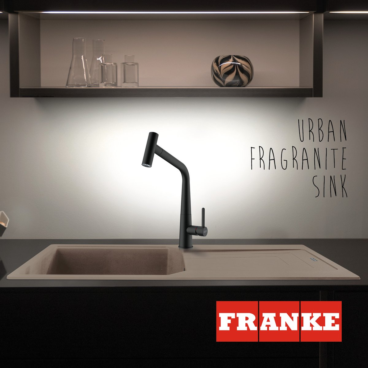 Did you know all our Fragranite sinks, including the stylish Urban, feature Sanitized® protection to help keep them clean and hygienic? Bacterial growth is reduced by 99% providing long lasting protection. Stylish and practical - it's win-win! franke.com/content/corpor…