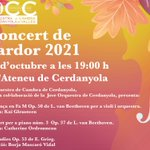 Image for the Tweet beginning: L'Orquestra de Cambra de #Cerdanyola