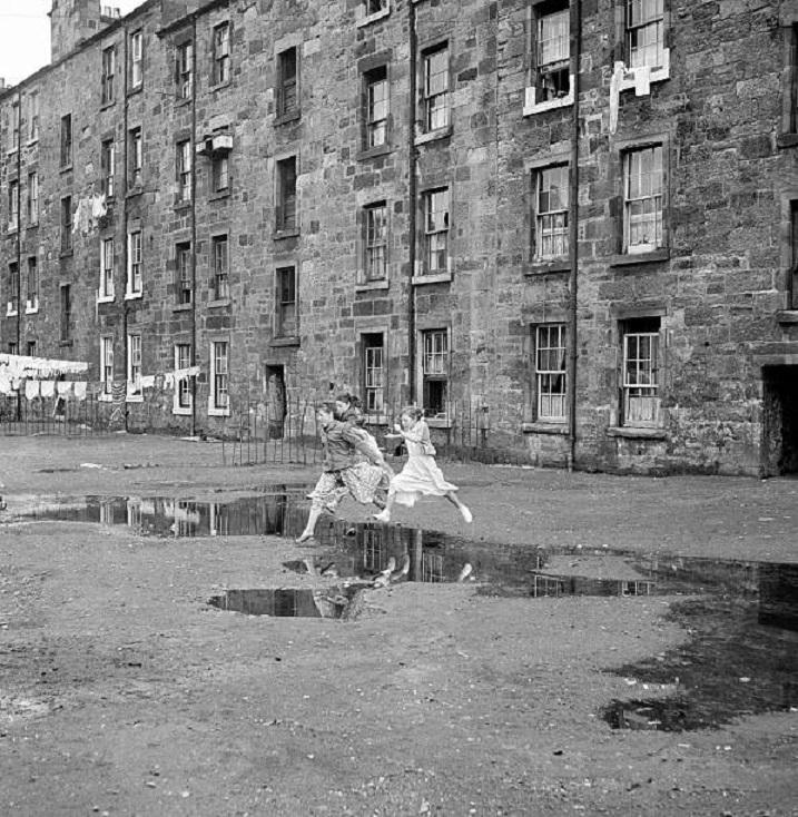 Govan kids, #Glasgow, 1956. (Trinity-Mirror)