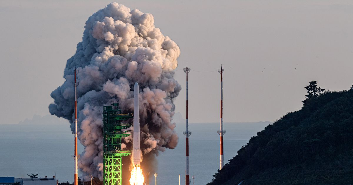 S.Korea's Moon vows 'Korean space age' after mixed rocket test results