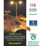 Image for the Tweet beginning: #arucasmedioambiente #arucasalumbrado Comienza la campaña