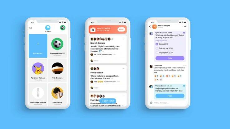 ツイッターがグループチャットアプリSphereを買収、さらに進む同社のプロダクト拡充 | TechCrunch Japan $TWTR -0.9%