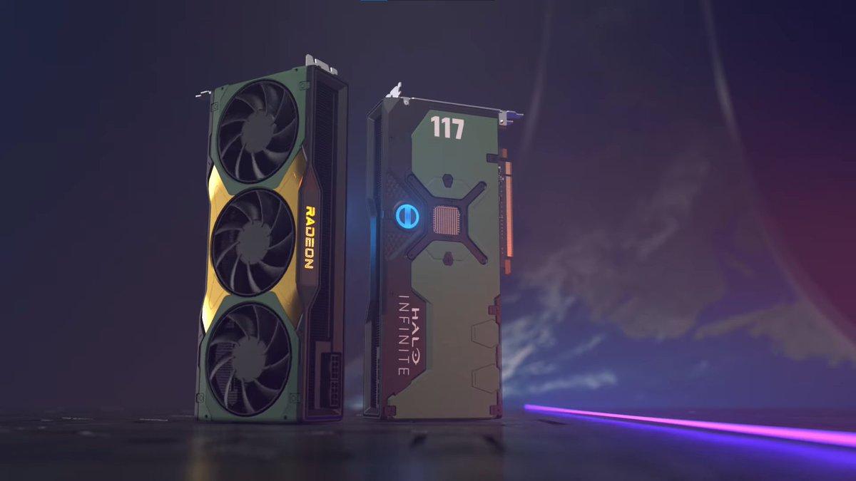 Microsoft and AMD will give away a 'Halo Infinite' Radeon RX 6900 XT GPU