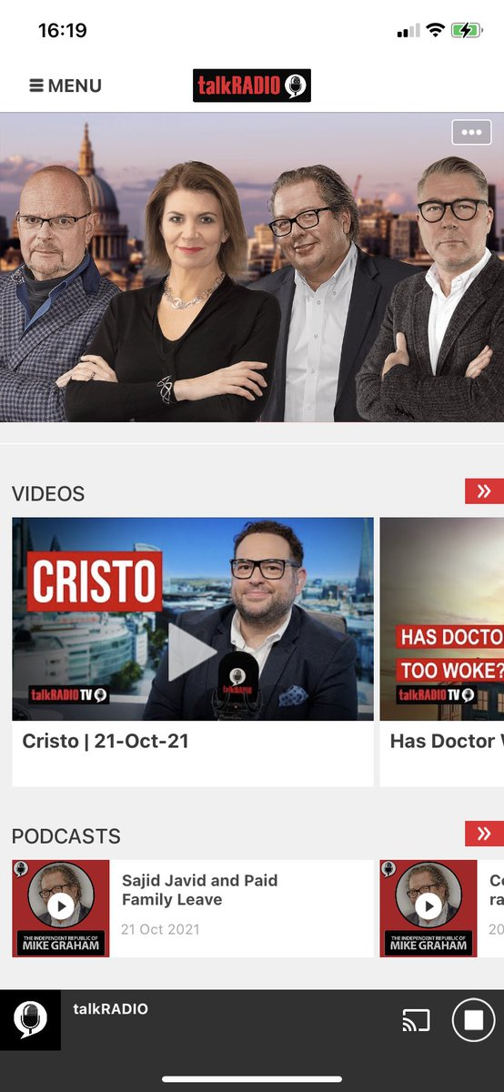 @cristo_radio on @talkRADIO 4-7pm. The only one asking why is the NHS not prepared for winter and Covid after 18 months.