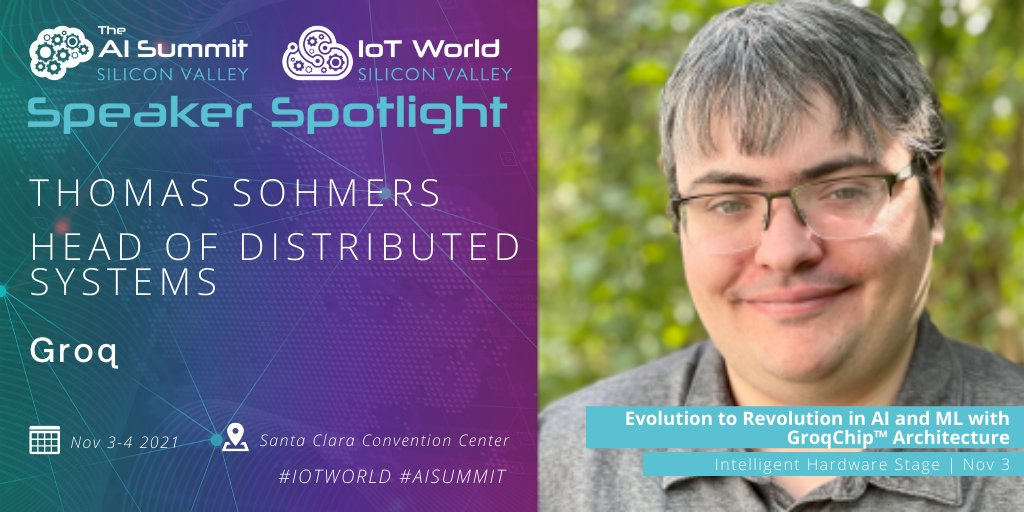Image for the Tweet beginning: The combined #AISummit and #IoTWorld