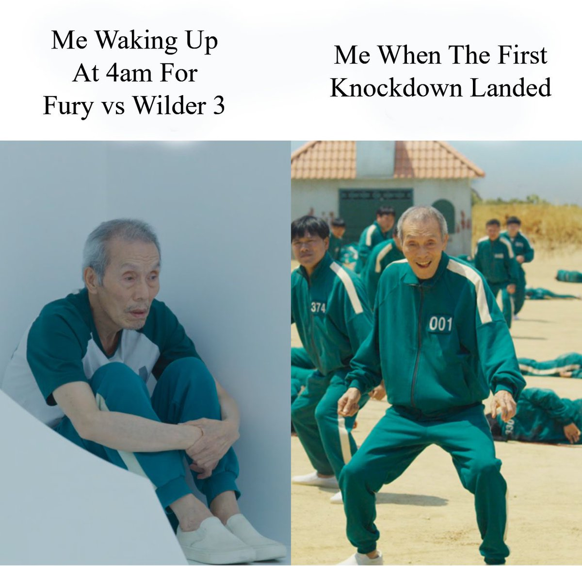 Accurate 😆 #FuryWilder3 #Boxing