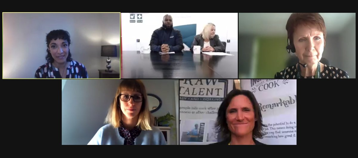Tips from our panel on inclusive recruitment of prison leavers: #SeeWhatsOnTheInside #PlanForJobs