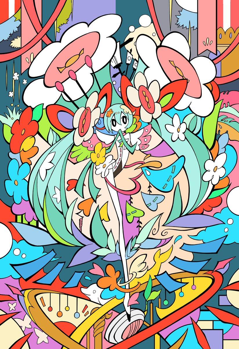🌼マジカルミライ2021描いてみたアレンジ強め🌼#初音ミク  #マジカルミライ2021