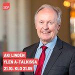 Image for the Tweet beginning: Illan A-Talkissa on vieraana @LindenAki