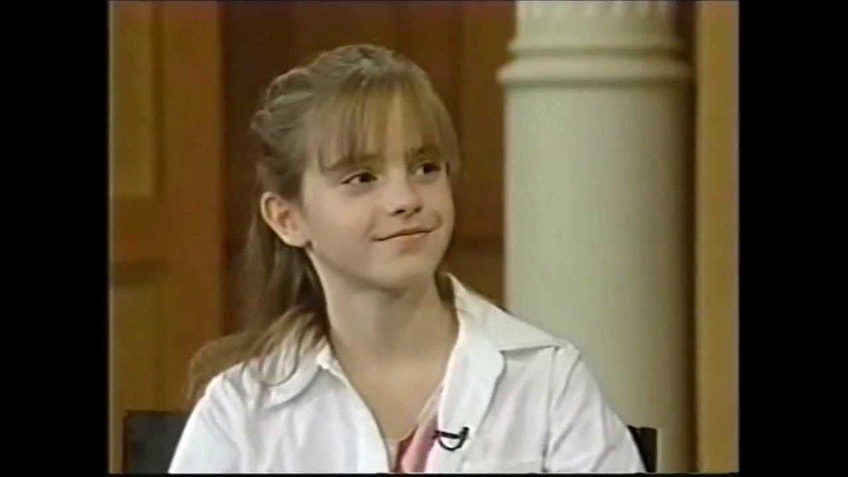Emma Watson'ın Hermione rolü için ilk seçmeleri okulundaki spor salonunda gerçekleşti. 8 kez seçmelere katıldı.
