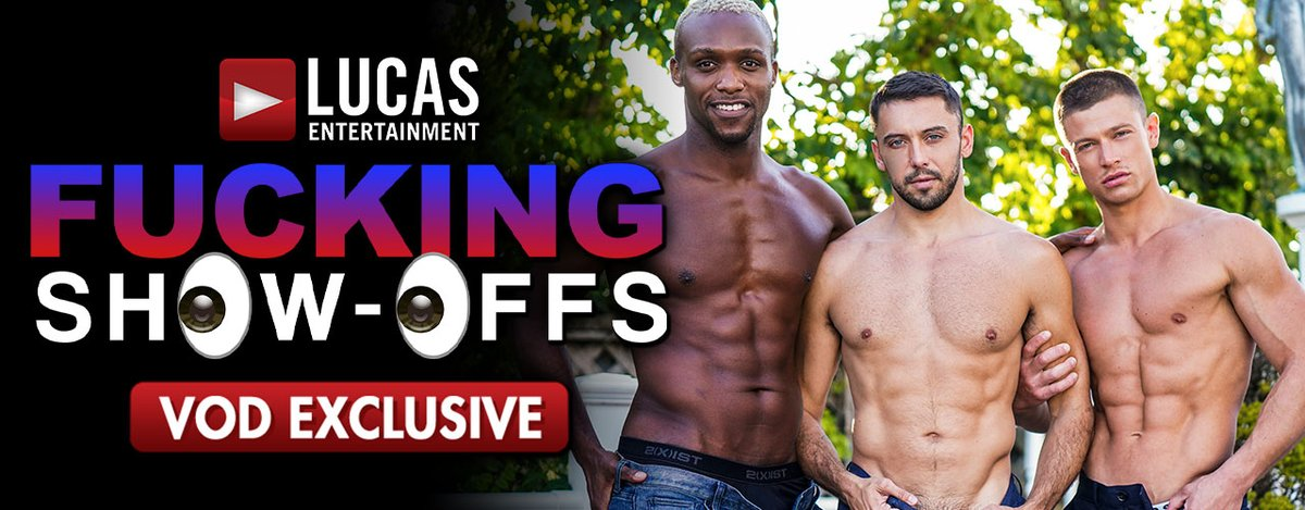 Those 'FUCKING SHOW-OFFS' Are Up To Exibitionist Exploits in @LucasEnt's Exciting New HD Exclusive, Starring @ANDY__STAR @itsdrakerogers @MaxArionxxx @AndreDonovanXO @ManuelSkyexxx @drewdixonxxx & More... See It Playing NOW ONLY on AEBN GAY THEATER ! bit.ly/3DT7qfG