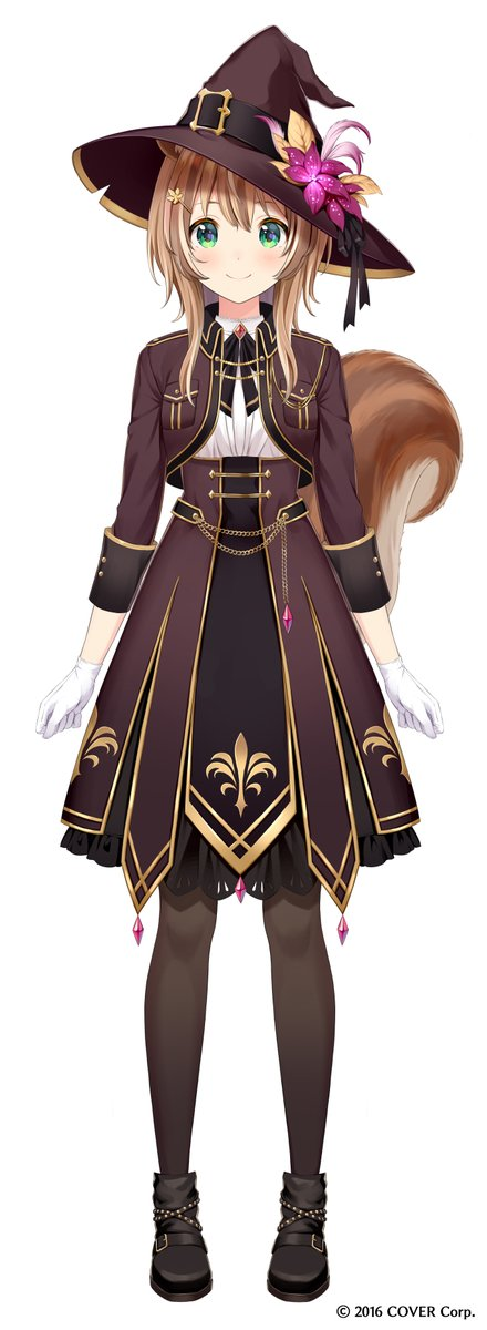 ホロライブID所属 Risuちゃんの新衣装お仕立ていたしました!🐿️✨#holoIDNewCostume