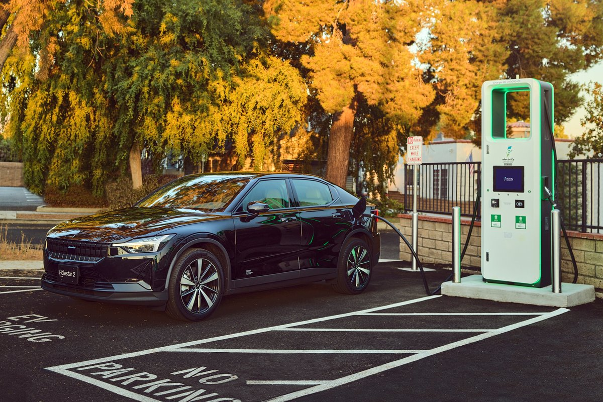 Polestar gives owners two years of free fast charging from Electrify America