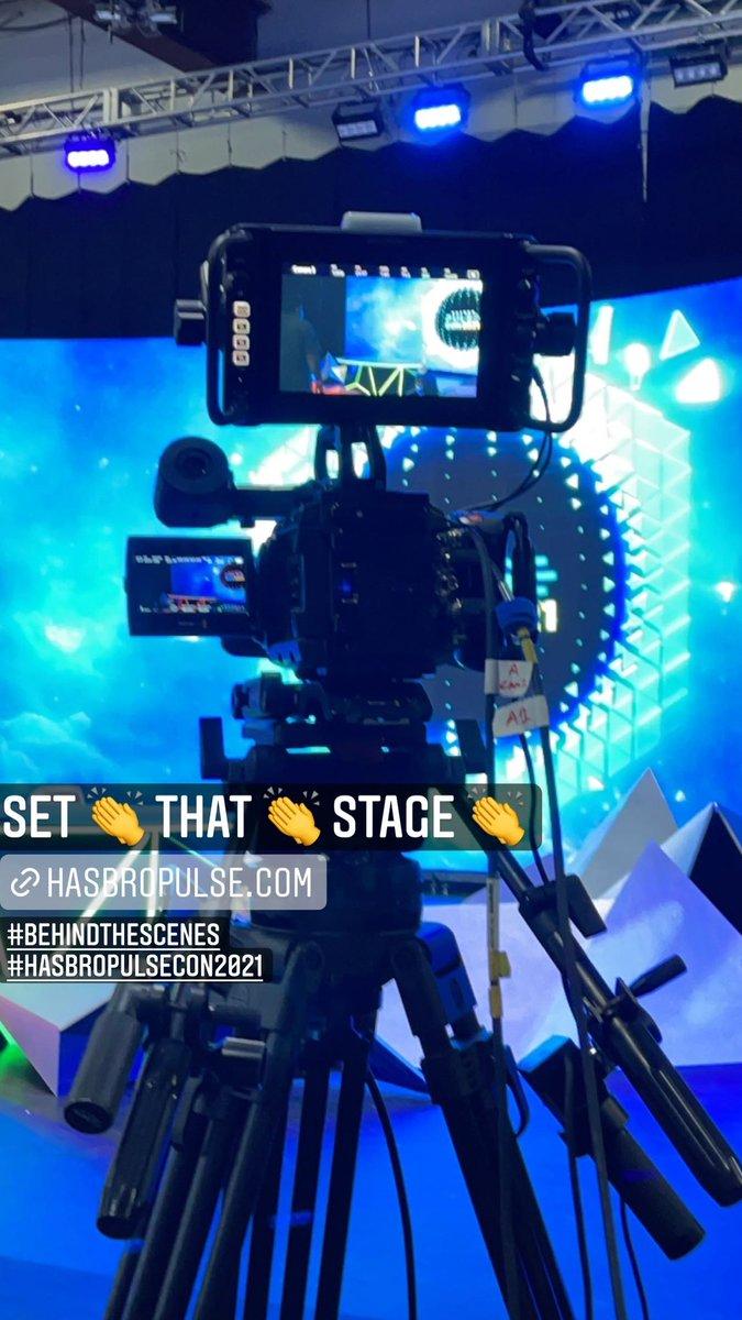 Lights. Camera. REHEARSAL! #BehindTheScenes #HasbroPulseCon2021
