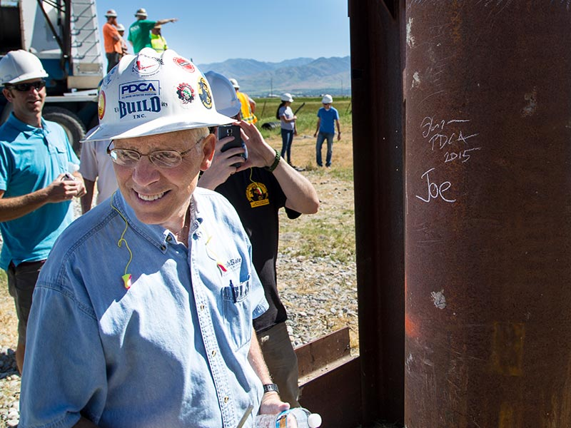 Today is the @USUAggies annual A Day of Giving. The College of Engineering is raising funds for an endowed scholarship in honor of the late Professor Joe Caliendo. Learn more or make a donation here: https://t.co/tyGwuE9op3 #Scholarships #Engineering #Giving https://t.co/nCrS2KGJSX