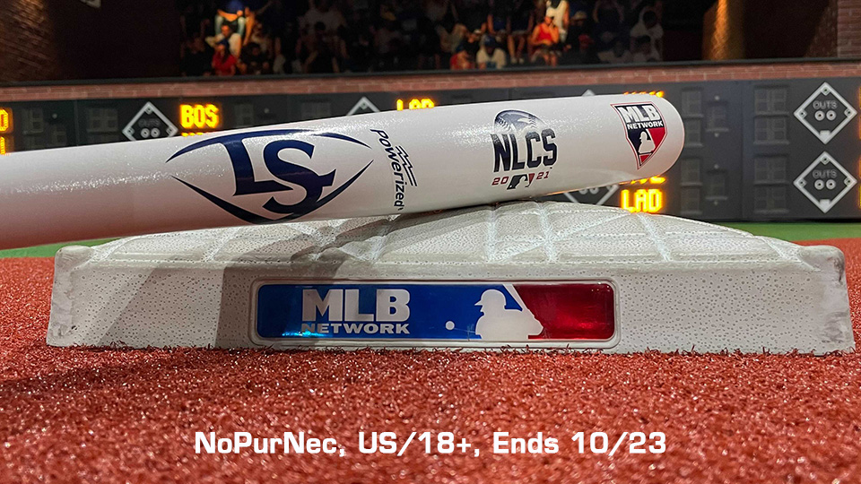 The Braves can clinch a trip to the World Series with a W tonight! RETWEET for a chance at a @sluggernation NLCS bat and tune in to #MLBTonight now for pregame coverage leading up to Game 5. Rules: atmlb.com/34ePZnW