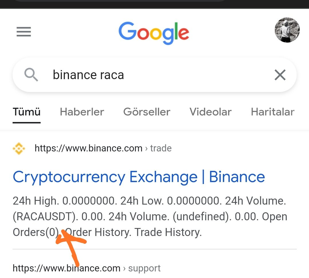 Google da #binance #raca yazınca bu sonuç çıkıyor. Ama sayfayı açmıyor. Bir hazırlık olabilir mi? Ben bilmem :) #HODL