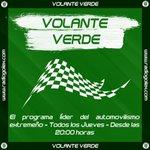 Image for the Tweet beginning: 🎙🟢 VOLANTE VERDE   Este Jueves