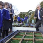 Image for the Tweet beginning: The Prime Minister planted a