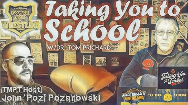 Today's Taking You To School is all about Dr Tom's tag partner Jimmy Del Ray from Smoky Mountain Wrestling & #WWE Host John Poz & Dr Tom discuss #JimCornette #HeavenlyBodies and others plus so much more! @RussosBrand