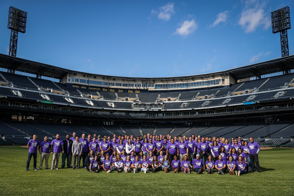 Proud to wear purple today. #SpiritDay