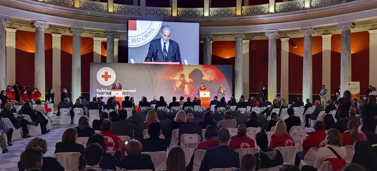 📌 Ο Υπ. Κλιματ. Κρίσης & Πολιτ. Προστασίας @StylianidesEU τίμησε εθελοντές @greekredcross σε ειδική εκδήλωση 📍Περιστύλιο #Ζάππειο 💬Η καλλιέργεια εθελοντικής συνείδησης κύρια προτεραιότητα & προϋπόθεση για έναν σύγχρονο μηχανισμό Πολιτικής Προστασίας 🔗bit.ly/30PGjEj