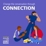 Image for the Tweet beginning: It's Connection Day of @active_minds