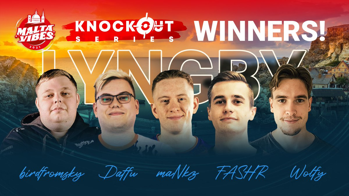 Great run for @itsFASHR @lyngbyvikings ! They are the #MaltaVibes Knockout Series #3 Champions! 🏆