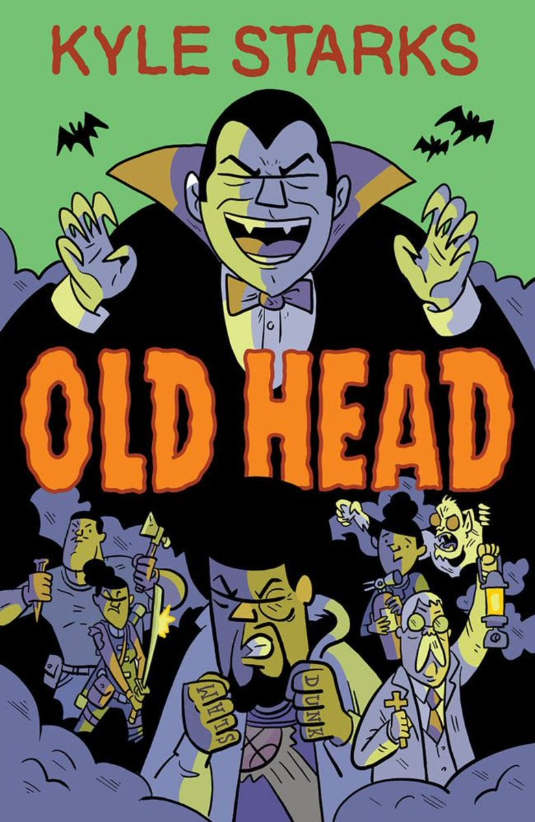 Join us this Tuesday, October 26th at 8pm ET on our Discord, to discuss OLD HEAD created by @TheKyleStarks. It's apparently Space Jam meets Fright Night. Need I say more?
