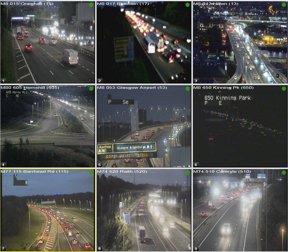 test Twitter Media - ⌚ 18:40  #Glasgow Congestion  #M8 Roadworks J15-18 W/B from J13 More info: https://t.co/mYoMF8fbdj  W/B J25-26  #M74 N/B J2A-M8  #M77 N/B J3-1  #DriveSafe @SWTrunkRoads @GlasgowCC https://t.co/npTx6gWHMq