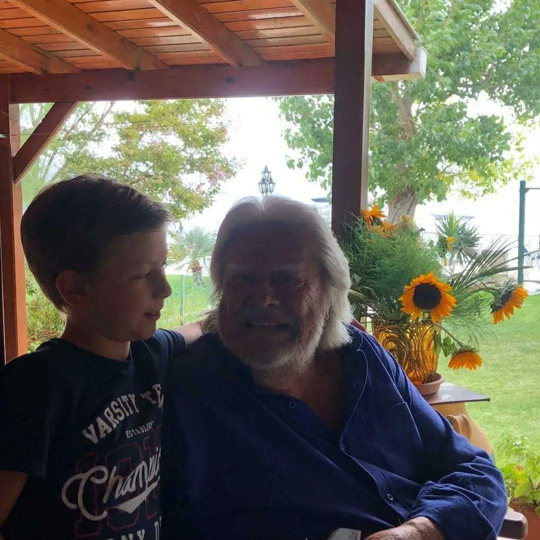 Sarp Can torunum Aslan oğlum 8 yaşında #tbt #yeni 📸