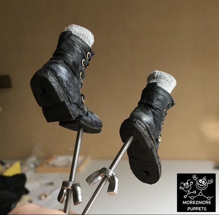 These boots were made for walkin' . . #stopmotion #animation #miniature #filmmaking #indiefilm #behindthescenes #supportindiefilm #director #filmfestival #production #filmmaker